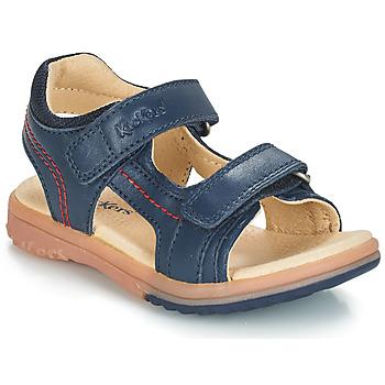 Παπούτσια Αγόρι Σανδάλια / Πέδιλα Kickers PLATINO Marine