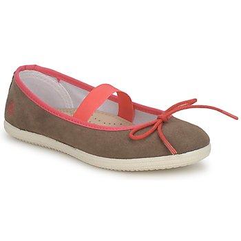 Παπούτσια Κορίτσι Μπαλαρίνες Petit Bateau KITY KID KAKI