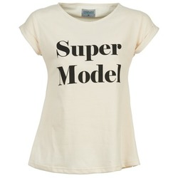 Υφασμάτινα Γυναίκα T-shirt με κοντά μανίκια Compania Fantastica HITTU Άσπρο