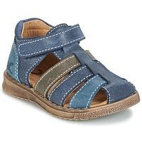 Παπούτσια Αγόρι Σανδάλια / Πέδιλα Citrouille et Compagnie FRINOUI MARINE / Grey