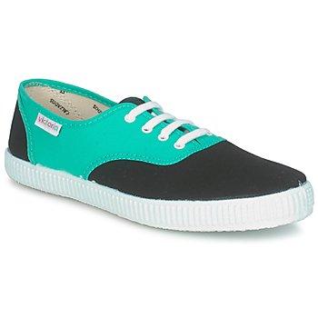 Παπούτσια Χαμηλά Sneakers Victoria 6651 Cyan / Black