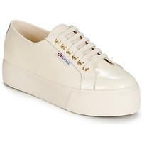 Παπούτσια Γυναίκα Χαμηλά Sneakers Superga 2790 LEAPATENT Ecru