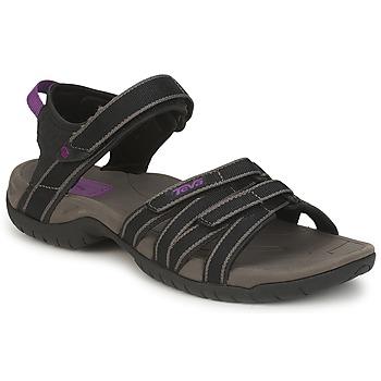 Παπούτσια Γυναίκα Σπορ σανδάλια Teva TIRRA Black / Grey
