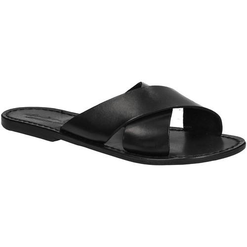 Παπούτσια Γυναίκα Τσόκαρα Gianluca - L'artigiano Del Cuoio 560 D NERO CUOIO nero