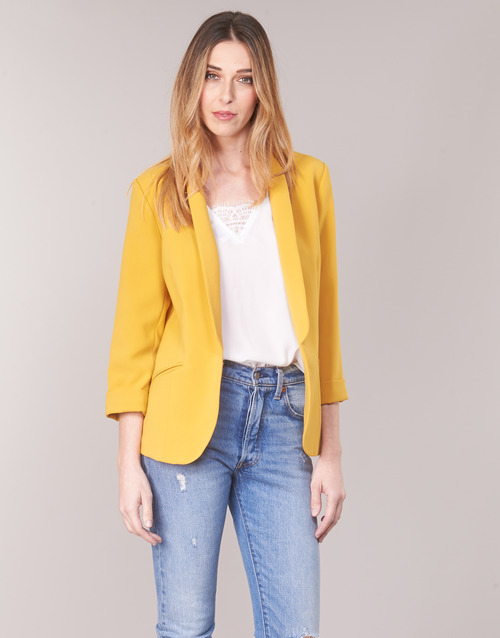 00d9a7189e89 Υφασμάτινα Γυναίκα Σακάκι   Blazers Betty London IOUPA Yellow