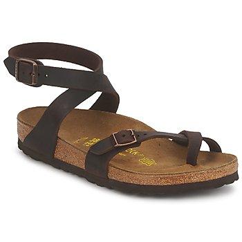 Παπούτσια Γυναίκα Σανδάλια / Πέδιλα Birkenstock YARA PREMIUM Brown