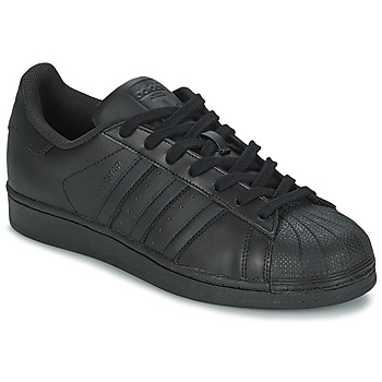 Παπούτσια Άνδρας Χαμηλά Sneakers adidas Originals SUPERSTAR FOUNDATION Black
