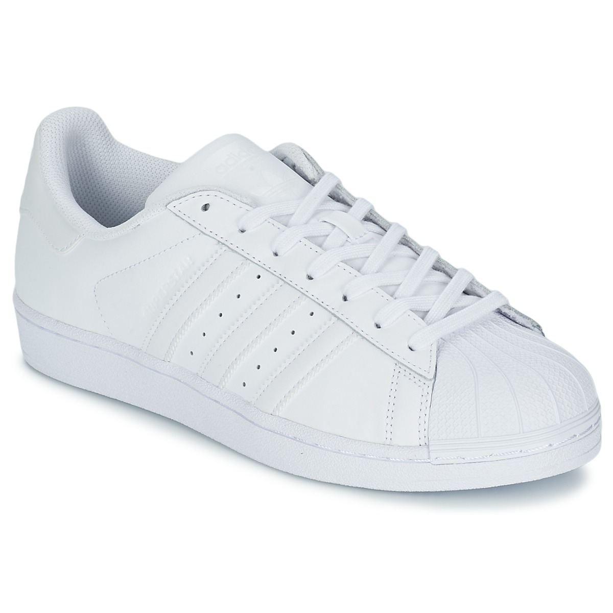 adidas Originals SUPERSTAR FOUNDATION Άσπρο - Δωρεάν Αποστολή στο  Spartoo.gr ! - Παπούτσια Χαμηλά Sneakers 102 2a4c39f1d1d