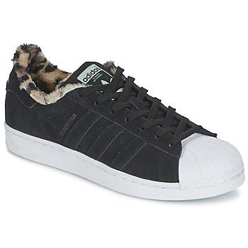Παπούτσια Γυναίκα Χαμηλά Sneakers adidas Originals SUPERSTAR W Black