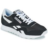 Παπούτσια Χαμηλά Sneakers Reebok Classic CL NYLON Black / Άσπρο