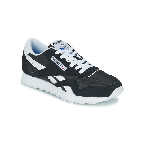 Παπούτσια Άνδρας Χαμηλά Sneakers Reebok Classic CL NYLON Black / Άσπρο