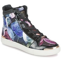 Παπούτσια Γυναίκα Ψηλά Sneakers Ted Baker MADISN Black / Multicolour