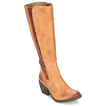 Παπούτσια Γυναίκα Μπότες για την πόλη Dkode LEANNE COGNAC