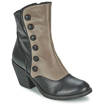 Παπούτσια Γυναίκα Μποτίνια Lola Ramona GRINGO Grey