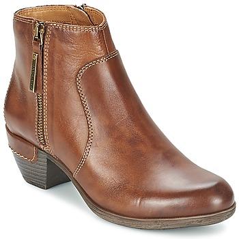 Παπούτσια Γυναίκα Χαμηλές Μπότες Pikolinos ROTTERDAM MILI 902 Brown