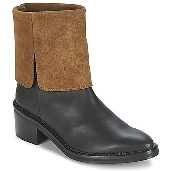 Παπούτσια Γυναίκα Μπότες Miista KAMILA Black / Brown