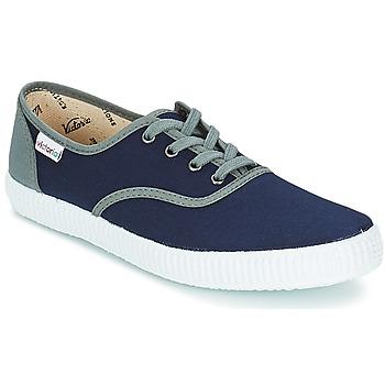 Παπούτσια Χαμηλά Sneakers Victoria INGLESA LONA DETALL CONTRAS Marine
