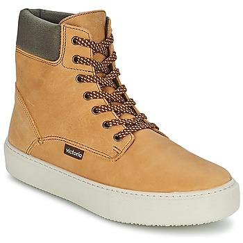 Παπούτσια Γυναίκα Ψηλά Sneakers Victoria BOTA MONTANA PIEL/CUELLO Ocre