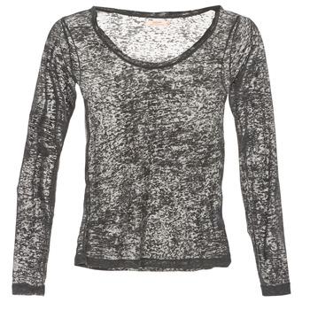 Υφασμάτινα Γυναίκα Μπλουζάκια με μακριά μανίκια DDP ACAFA Grey