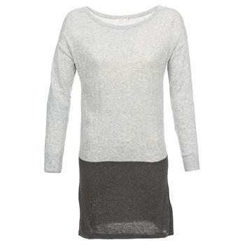 Υφασμάτινα Γυναίκα Κοντά Φορέματα DDP EMMI Black / Grey