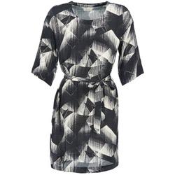 Υφασμάτινα Γυναίκα Κοντά Φορέματα Nümph GINGER Black / Άσπρο