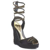 Παπούτσια Γυναίκα Σανδάλια / Πέδιλα Azzaro LUGGANO Black