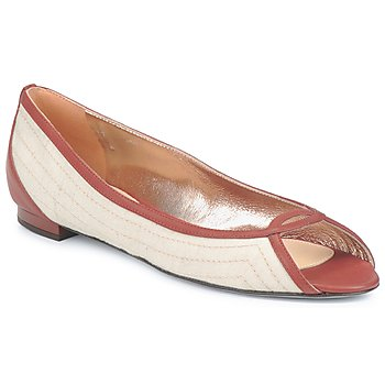 Παπούτσια Γυναίκα Μπαλαρίνες Azzaro JOUR Beige / CAMEL