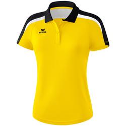 Υφασμάτινα Γυναίκα Πόλο με κοντά μανίκια  Erima Polo femme  Liga 2.0 jaune/noir/blanc