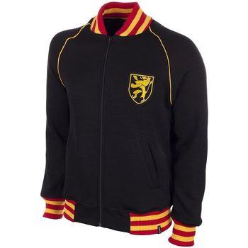 Υφασμάτινα Άνδρας Φούτερ Copa Football Sweat zippé Belgique 1960's noir/jaune/rouge