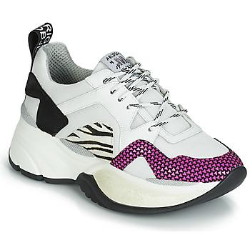 Παπούτσια Γυναίκα Χαμηλά Sneakers Meline ARGAGALI Άσπρο / Black