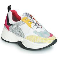 Παπούτσια Γυναίκα Χαμηλά Sneakers Meline PUNKY DADDY Άσπρο / Ροζ