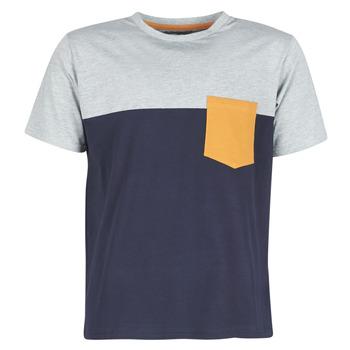 Υφασμάτινα Άνδρας T-shirt με κοντά μανίκια Casual Attitude JERMENE Grey / Marine