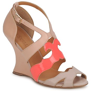 Παπούτσια Γυναίκα Σανδάλια / Πέδιλα MySuelly PAULINE TAUPE / Γρεναδίνη