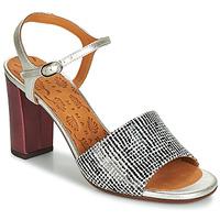 Παπούτσια Γυναίκα Σανδάλια / Πέδιλα Chie Mihara PARIGI Silver / Black