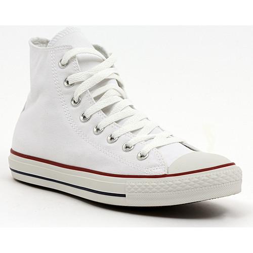 Παπούτσια Άνδρας Ψηλά Sneakers Converse ALL STAR HI  OPTICAL WHITE Multicolore