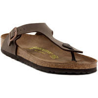 Παπούτσια Γυναίκα Σαγιονάρες Birkenstock GIZEH MOCCA CALZ N Multicolore