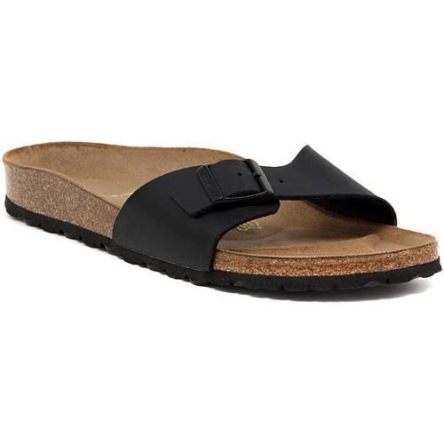 Παπούτσια Γυναίκα Τσόκαρα Birkenstock MADRID SCHWARZ CALZ S Nero