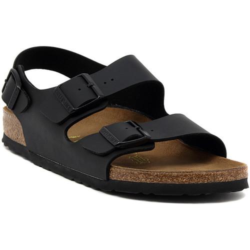 Παπούτσια Σανδάλια / Πέδιλα Birkenstock MILANO BLACK CALZ S Multicolore