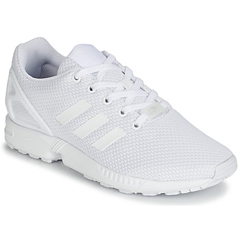 Παπούτσια Παιδί Χαμηλά Sneakers adidas Originals ZX FLUX J Άσπρο