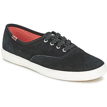 Παπούτσια Γυναίκα Χαμηλά Sneakers Keds CHAMPION SUEDE Black