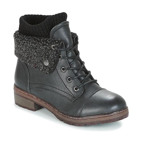 Παπούτσια Γυναίκα Μπότες Coolway BRING Black