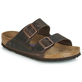 Παπούτσια Άνδρας Τσόκαρα Birkenstock ARIZONA SFB Brown