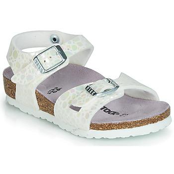 Παπούτσια Κορίτσι Σανδάλια / Πέδιλα Birkenstock RIO Άσπρο
