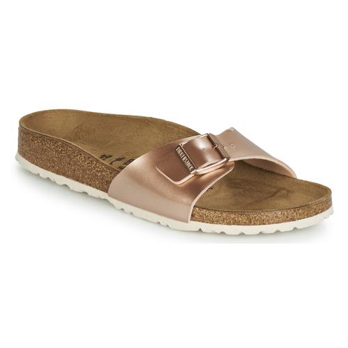 Παπούτσια Γυναίκα Τσόκαρα Birkenstock MADRID Ροζ / Gold