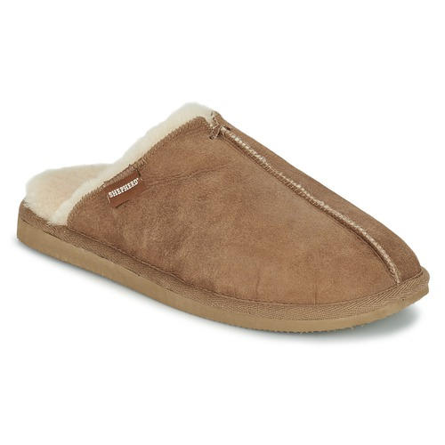 Παπούτσια Άνδρας Παντόφλες Shepherd HUGO Camel