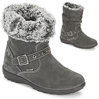 Παπούτσια Κορίτσι Μπότες για την πόλη Primigi GLOSSY GORETEX Grey