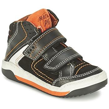 Παπούτσια Αγόρι Ψηλά Sneakers Primigi MOTT Black / Orange