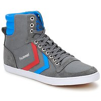 Παπούτσια Ψηλά Sneakers Hummel TEN STAR HIGH CANVAS Grey / Μπλέ / Red