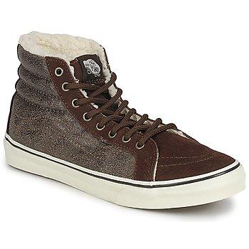 Παπούτσια Γυναίκα Ψηλά Sneakers Vans CHUKKA SLIM Brown