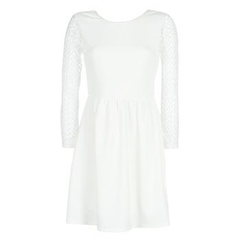 Υφασμάτινα Γυναίκα Κοντά Φορέματα Betty London J. LOUISE Άσπρο